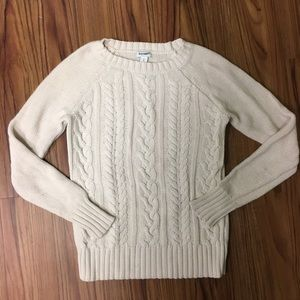 Heavy Offwhite Old Navy Sweater sz S